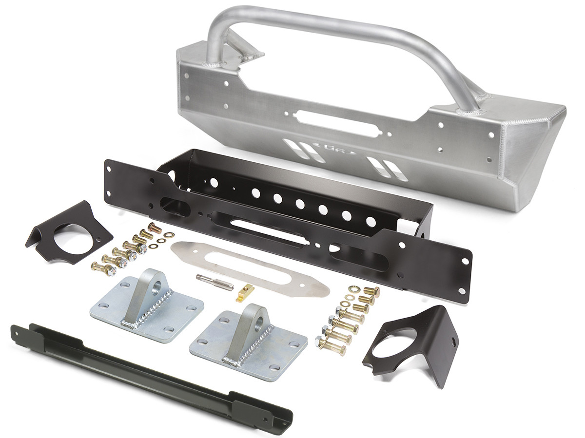 GenRight's Front Bumper for the 2018 Jeep Wrangler JL with winch guard bar
