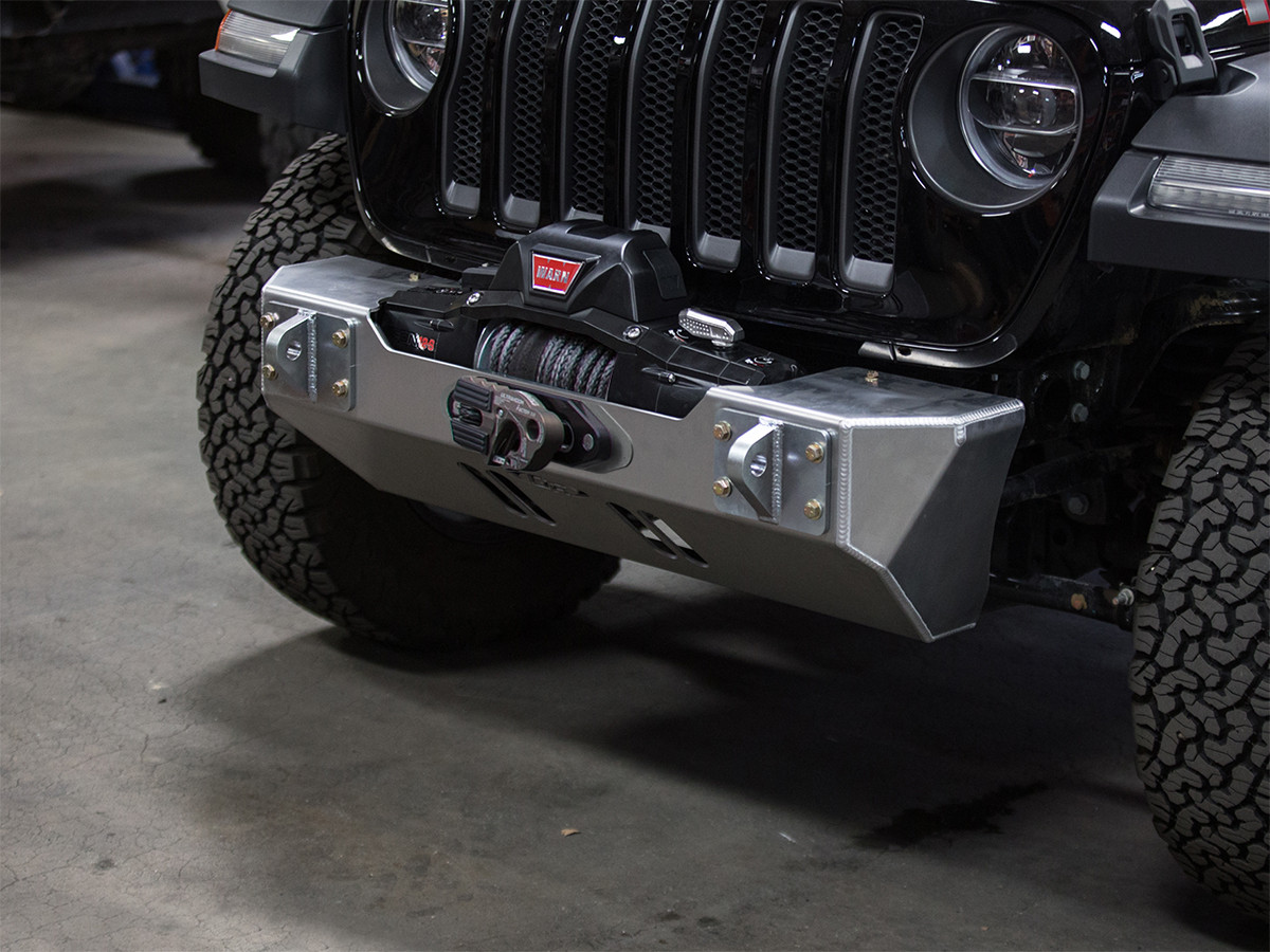 Stubby Front Bumper for the 2018 Jeep Wrangler JL