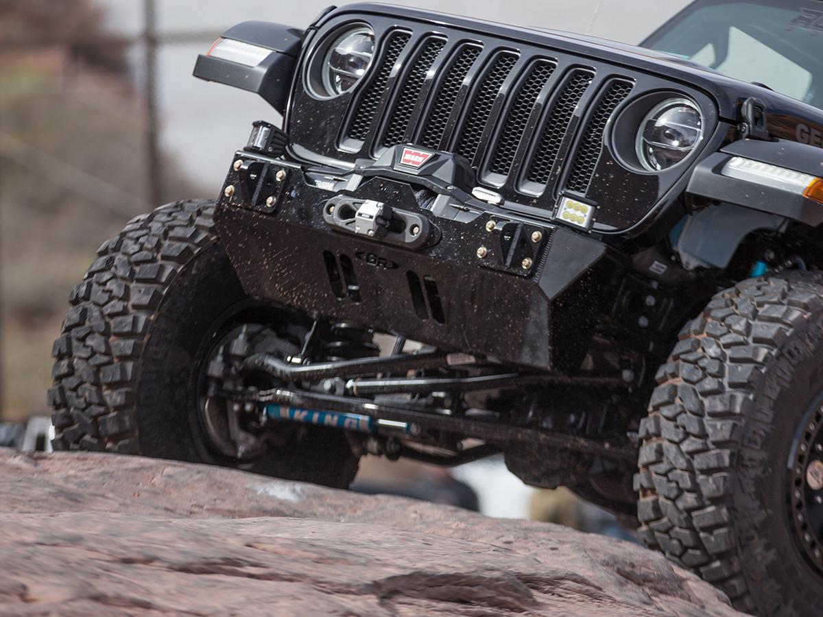 Shown Powder Coated Black on a 2018 Jeep Wrangler JL