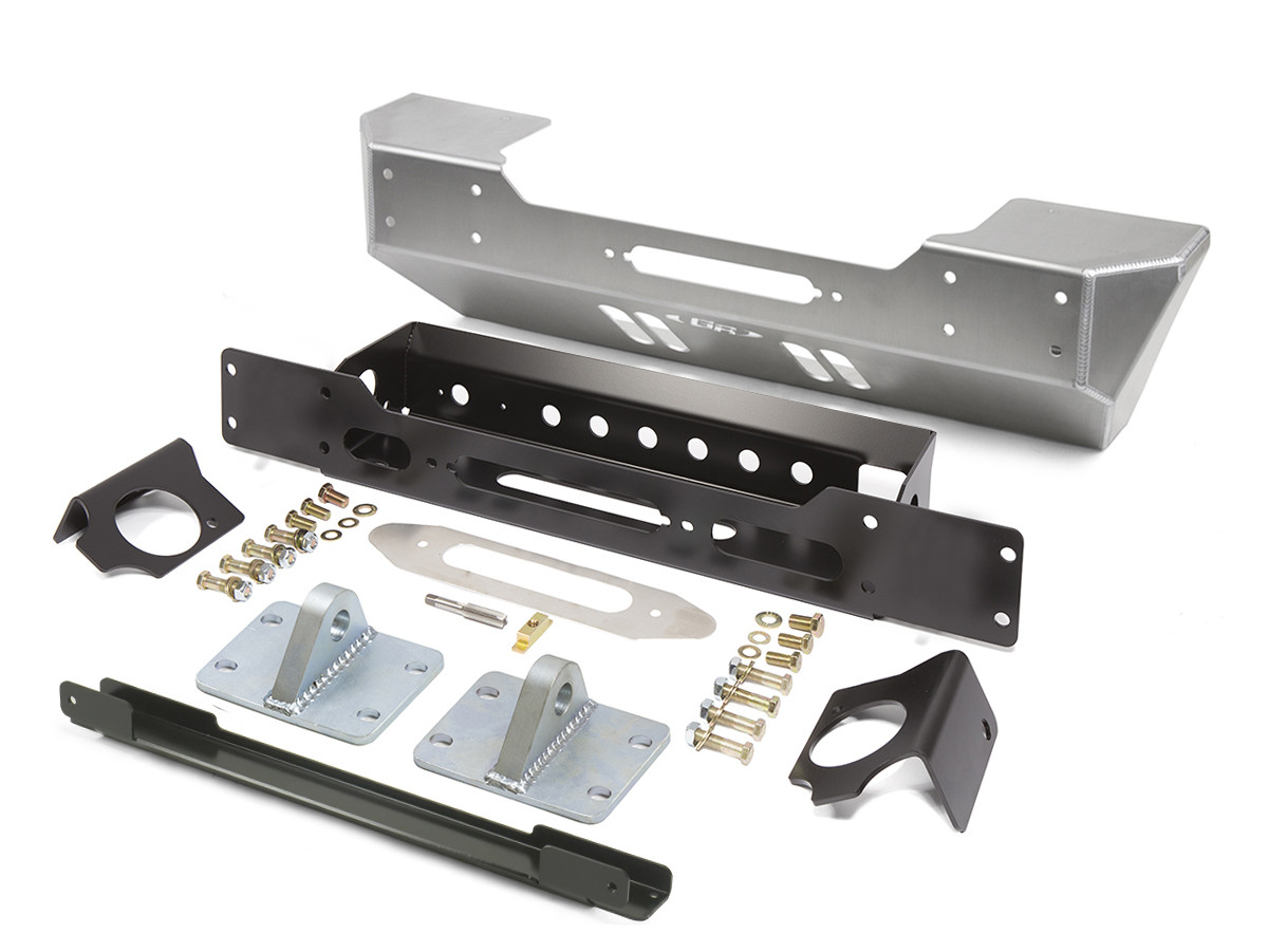 GenRight's Stubby Front Bumper for the 2018 Jeep Wrangler JL