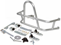 GenRight Off Road's Jeep Wrangler JL Swing Out Rear Tire Carrier in Aluminum