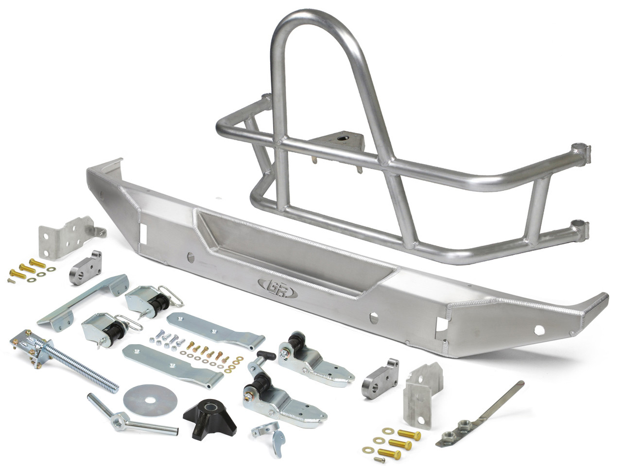 Jeep JL Swing Out Rear Tire Carrier & Bumper Package (Aluminum)