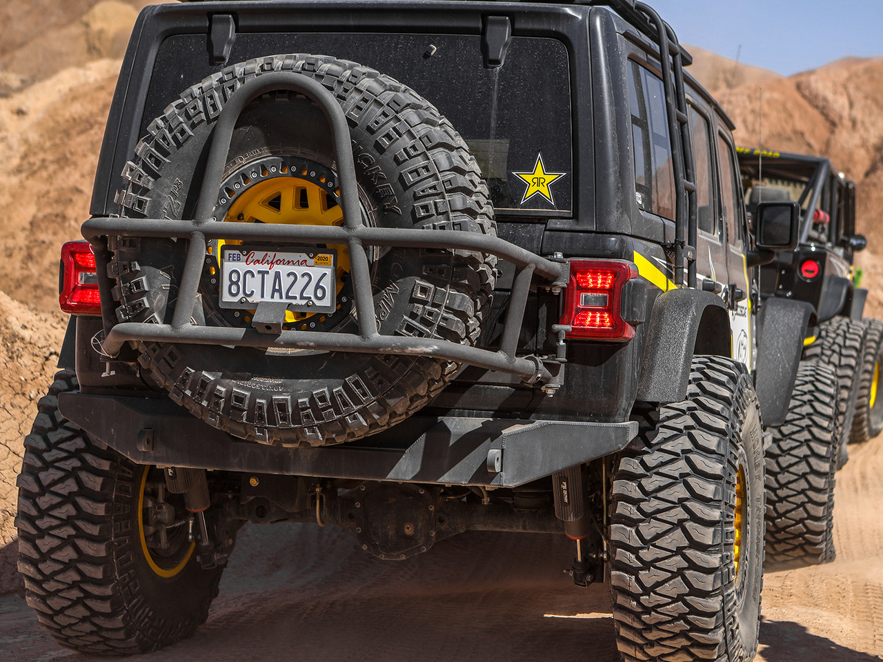 Shown on a 2018 Jeep Wrangler JL