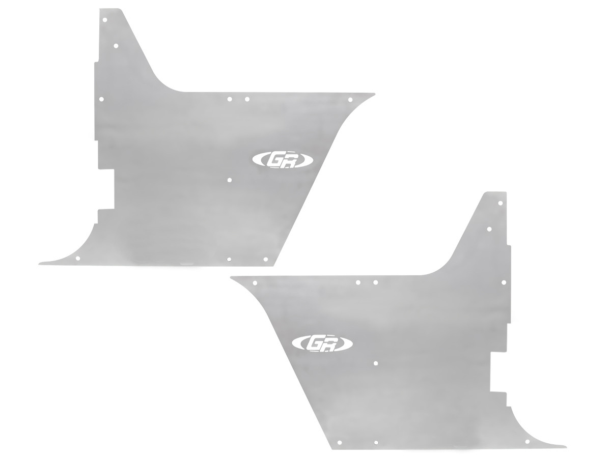 TJ/LJ Flak-Jacket Tub Guards - Aluminum