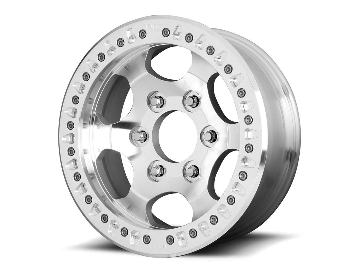 "KMC XD231 Race 17"" Wheel (Machined)"