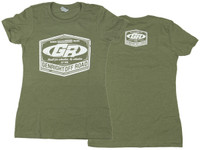 Women's GenRight Classic Emblem Tee (Military Green)