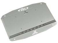 Jeep Wrangler JL Tailgate Plate and License Plate Mount (Comes w/ hardware)