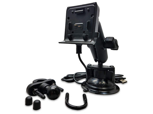 Included ram mount allows you to mount the unit virtually anywhere