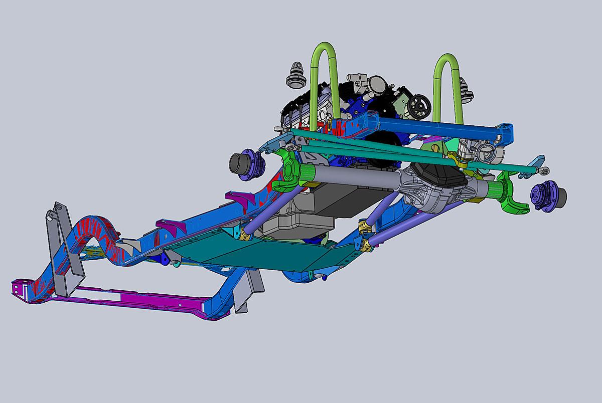 CAD Designed system