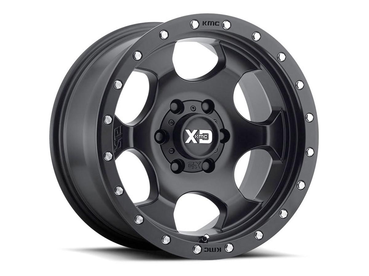 "KMC XD Robby Gordon (RG1) 17"" Wheel (Black)"