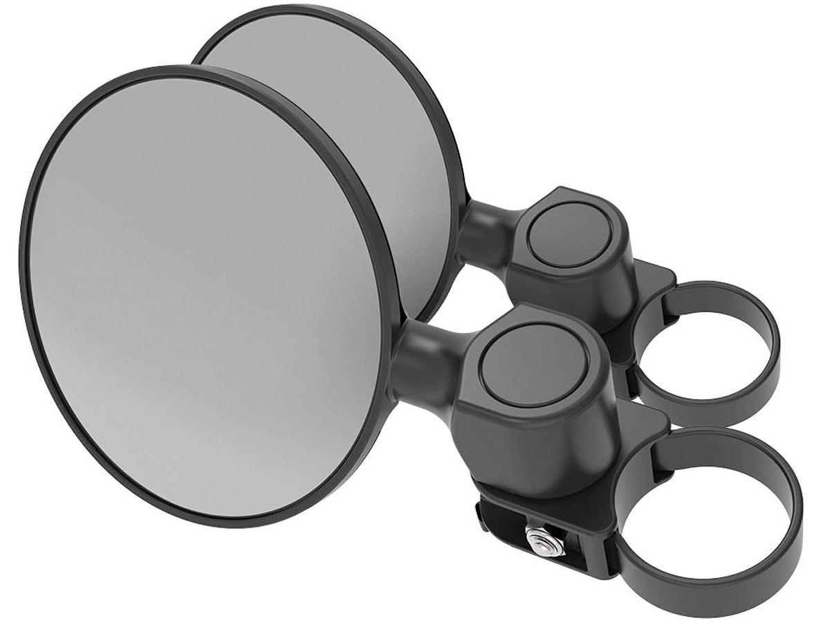 "Scosche BaseClamp™ 5"" Round Convex Side Mirrors (Pair)"