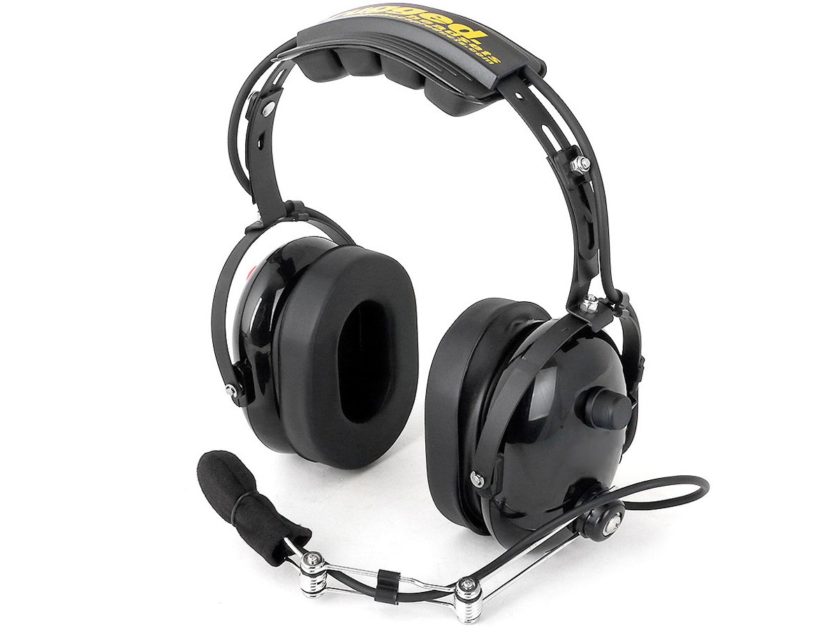 Rugged Radios H22 Black Pro-Series 2-Way Headset