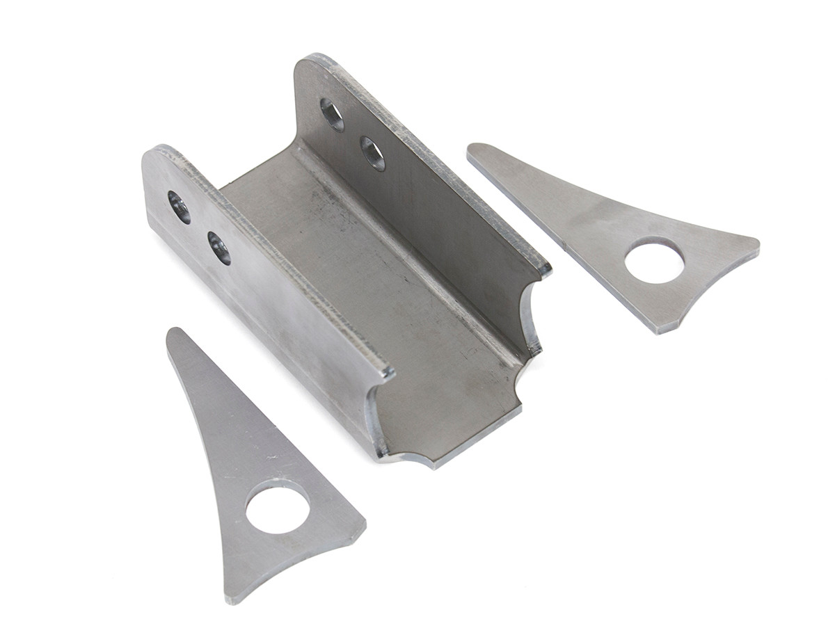 """6"""" Upper Control Arm Mount (Axle Side) w/ Gussets"""