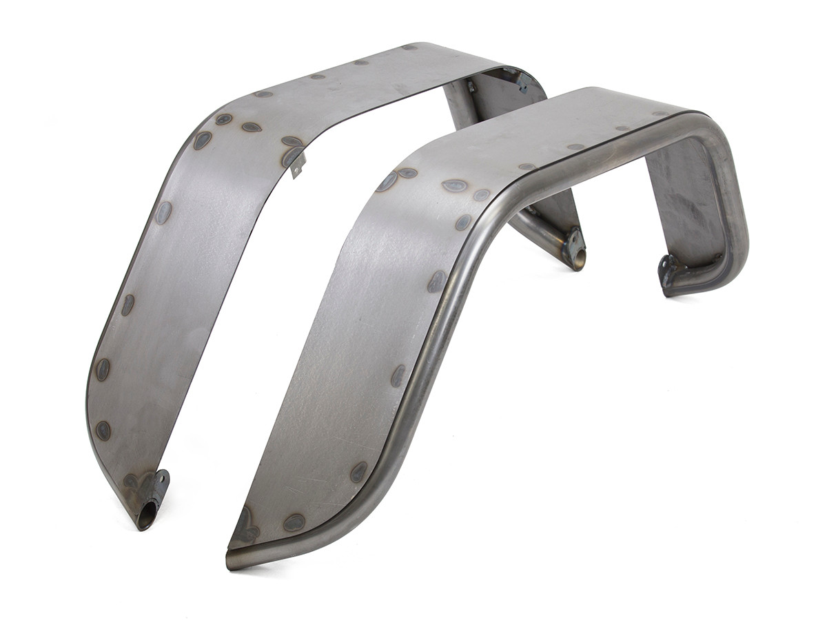 """GenRight's 6"""" wide Rear Tube Flare in steel"""