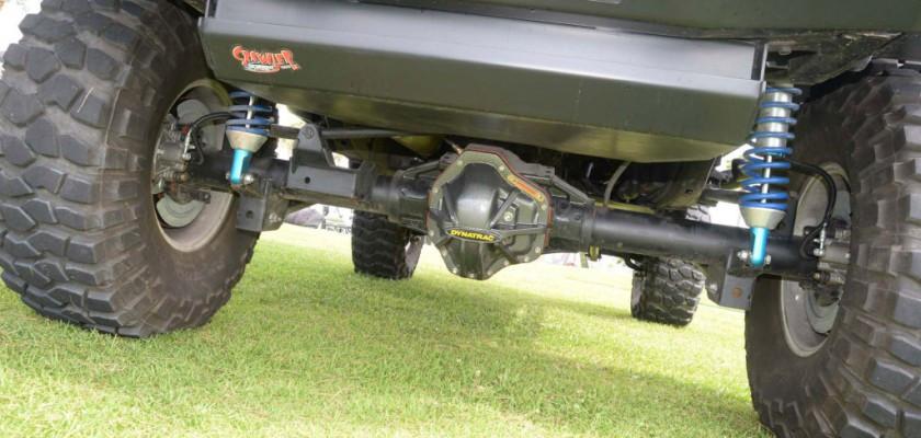 The ProRock 80 looks impressive under a built Jeep!