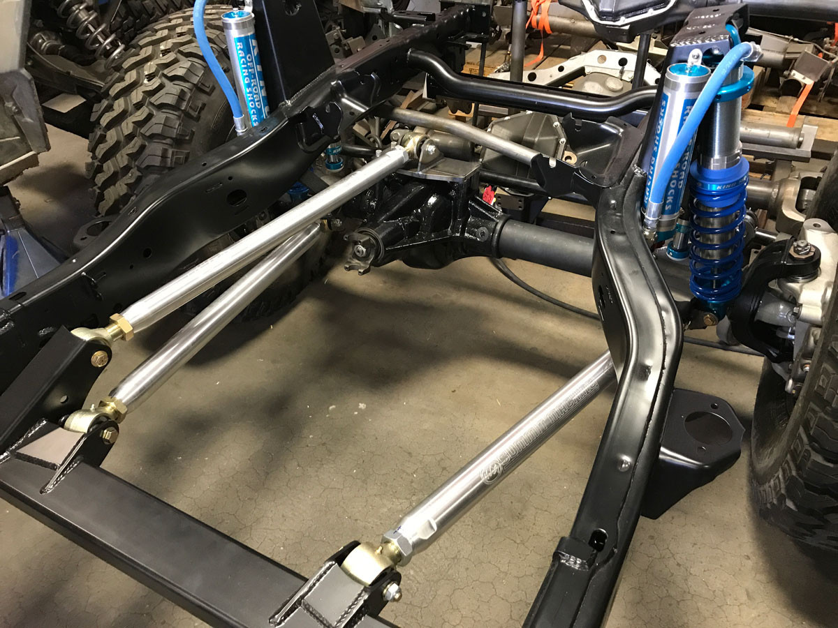 XD60 installing with GenRight Elite JK Suspension