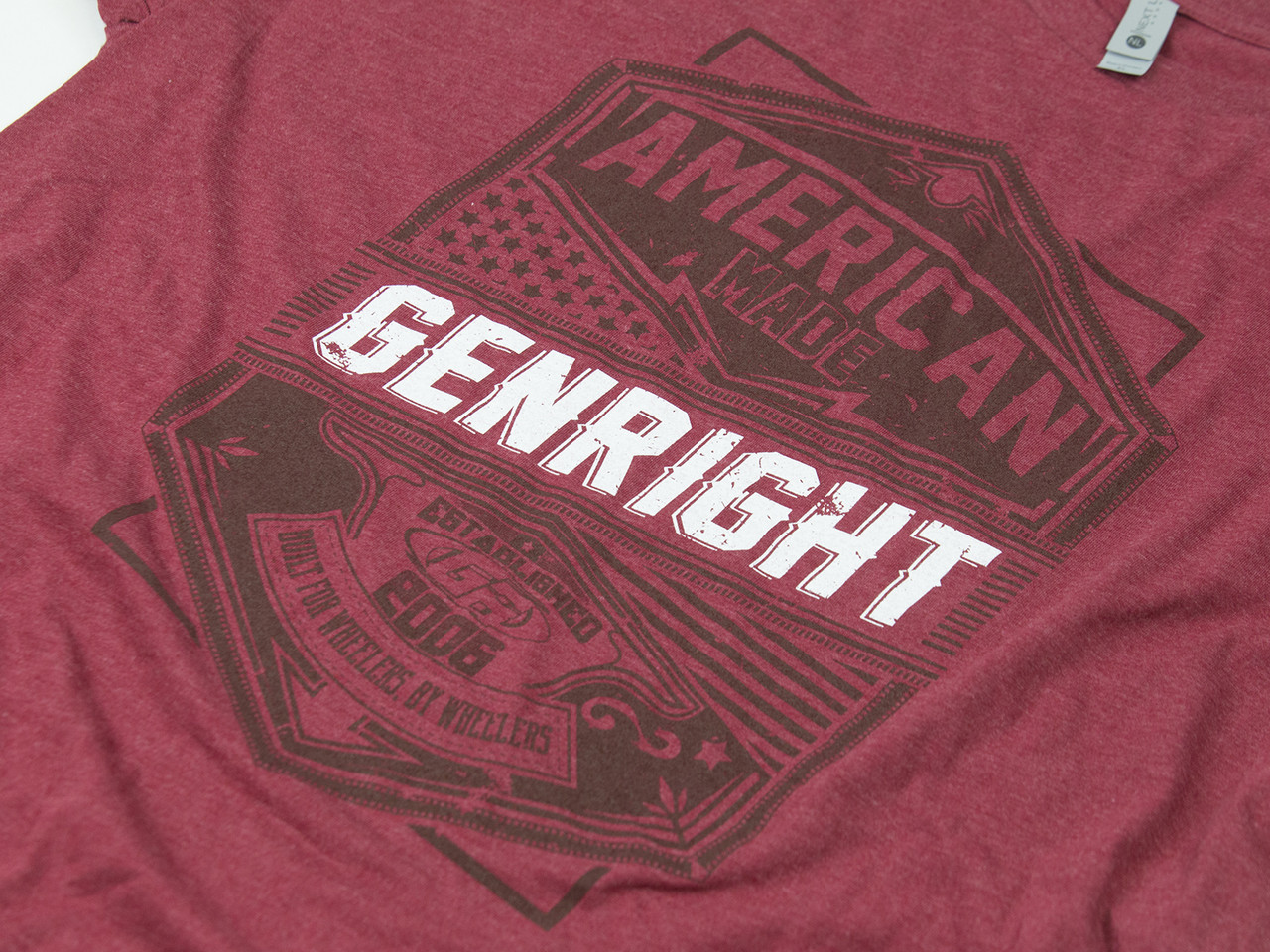 GenRight American Made Mens SS Tee