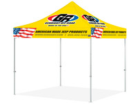 GenRight 10'x10' Endeavor Aluminum Ez-Up Shelter