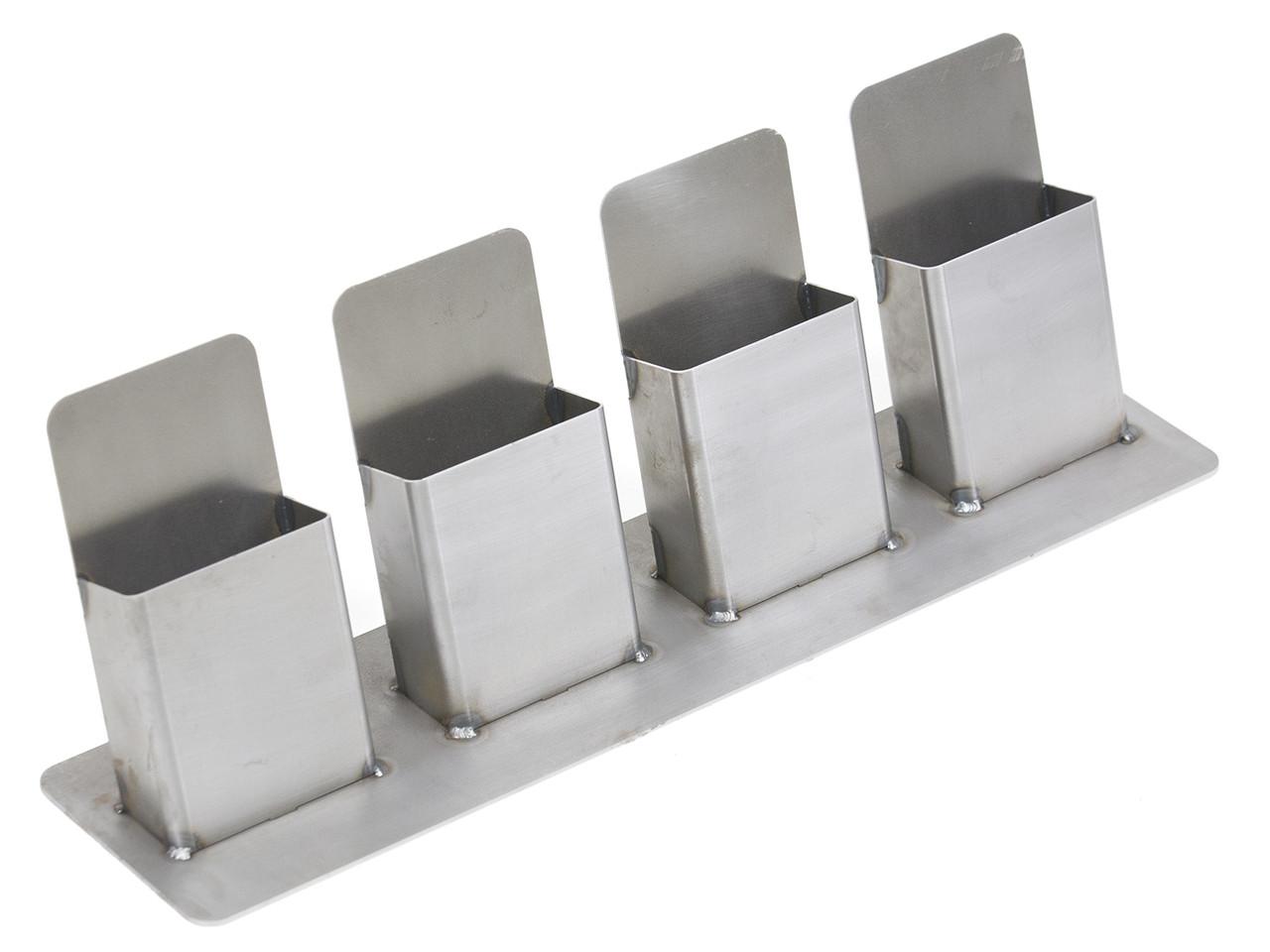 GenRight Steel Trifold Holder