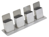 GenRight Steel Trifold Holder