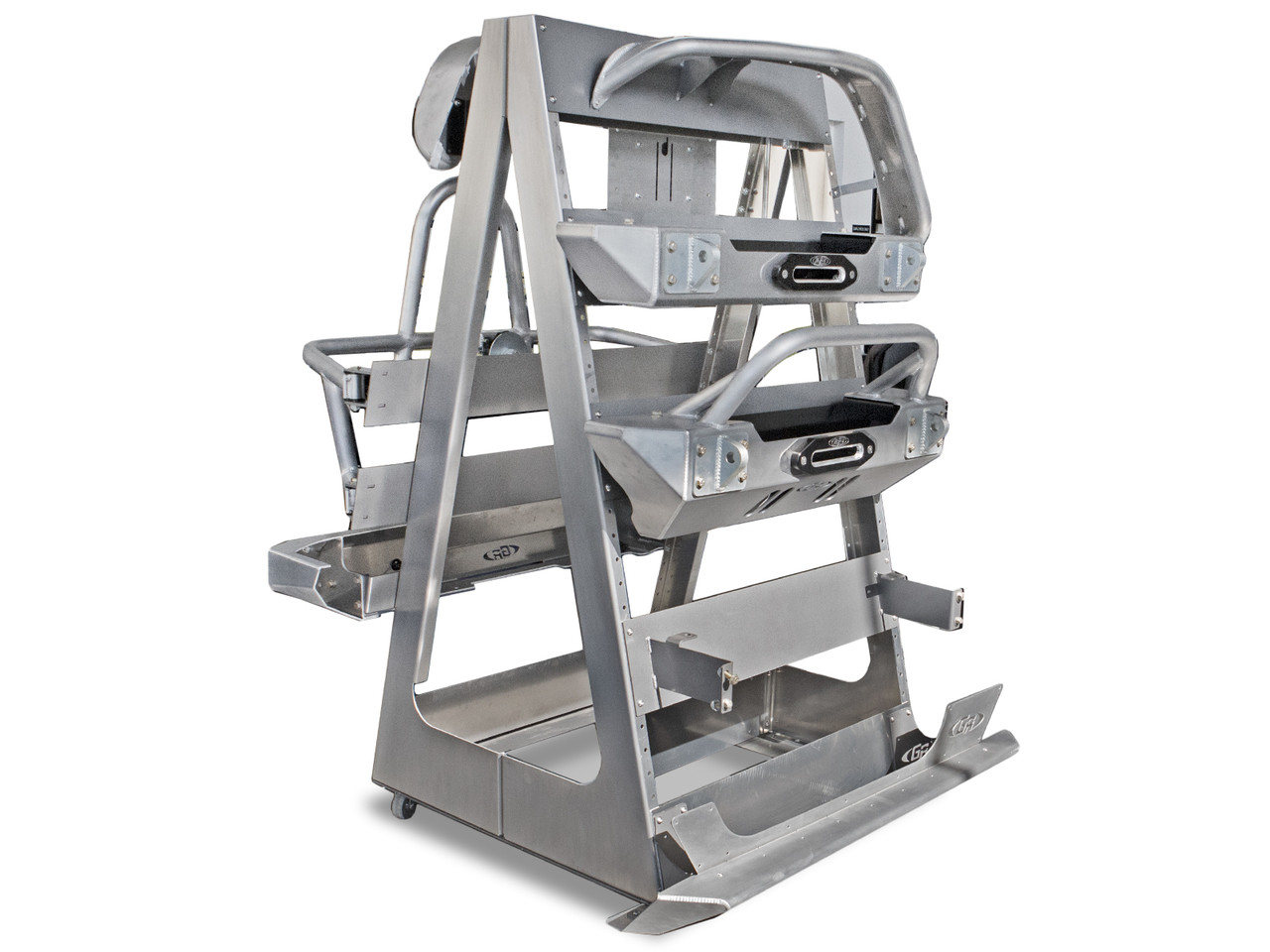 GenRight Rolling Aluminum Product Display (Product not included)