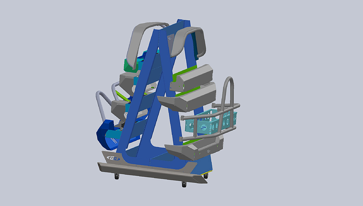 Designed in CAD so we could make it universal and optimize product placement