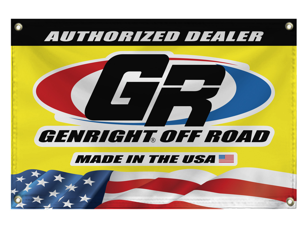 GenRight 2'x3' Authorized Dealer Banner