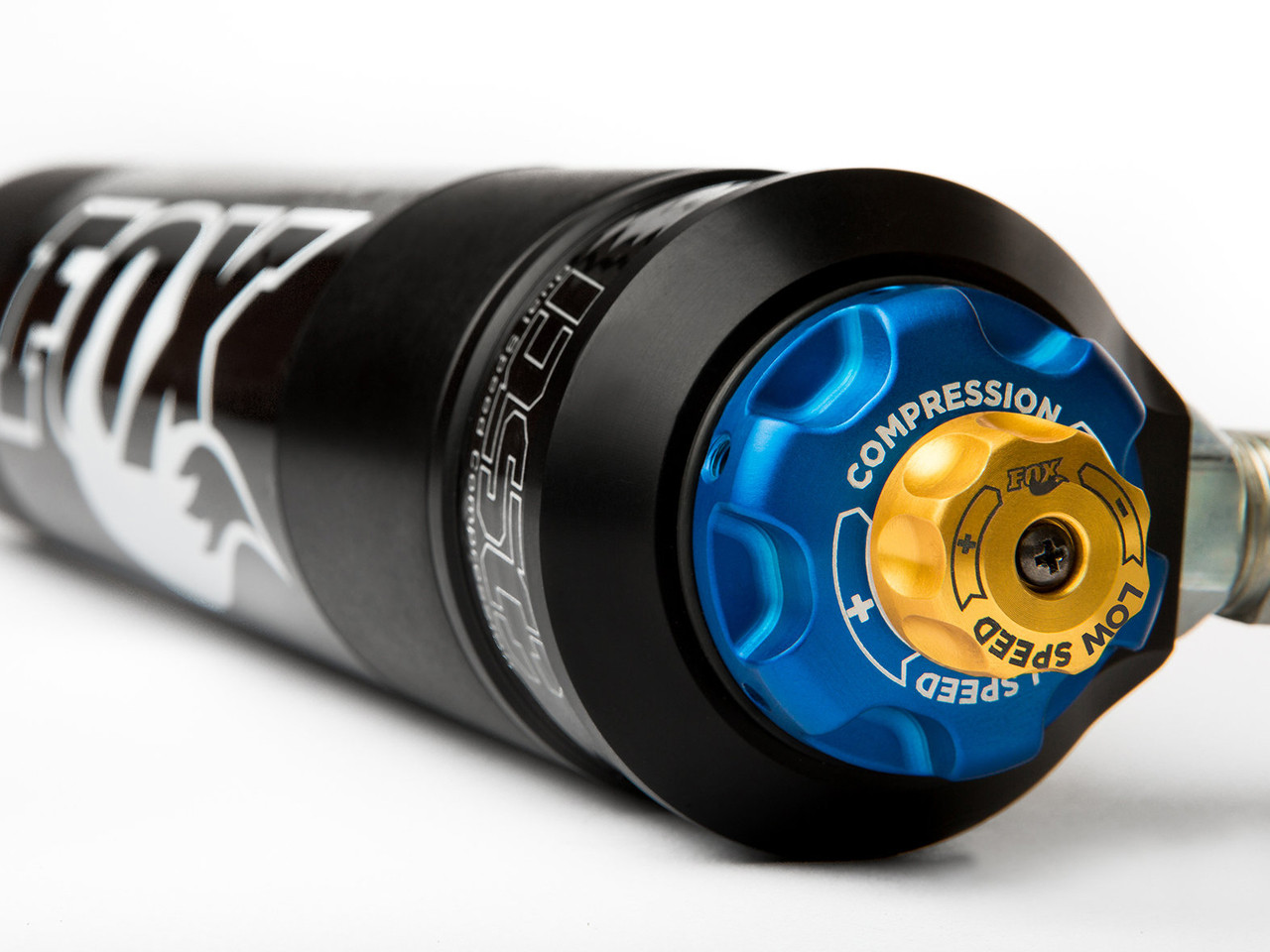 Fox's DSC (Dual Speed Compression) allows for precise tuning and unmatched performance.
