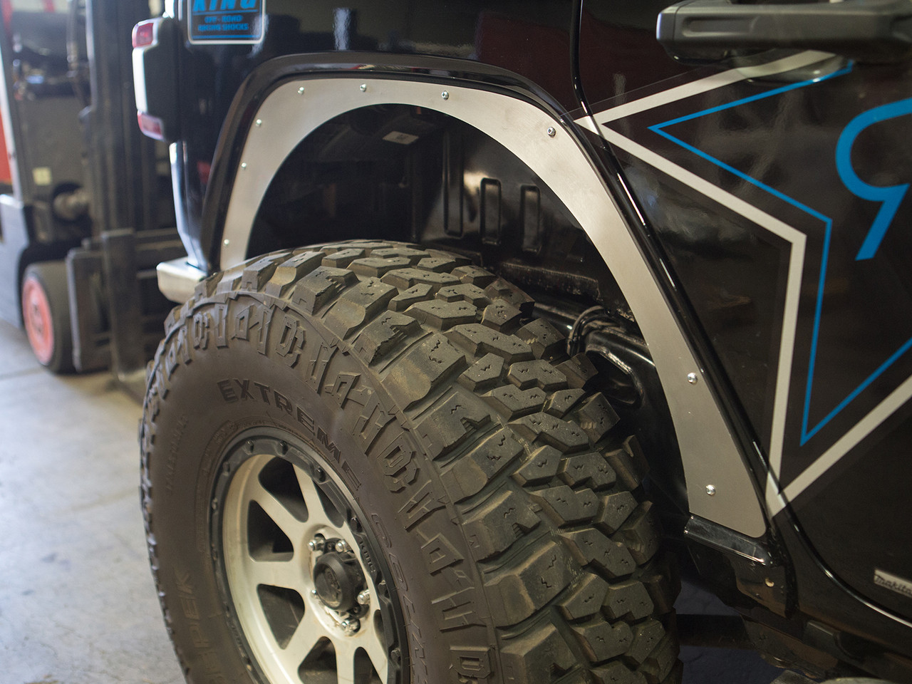 Jeep Wrangler JL Fender Delete Kit - Rear