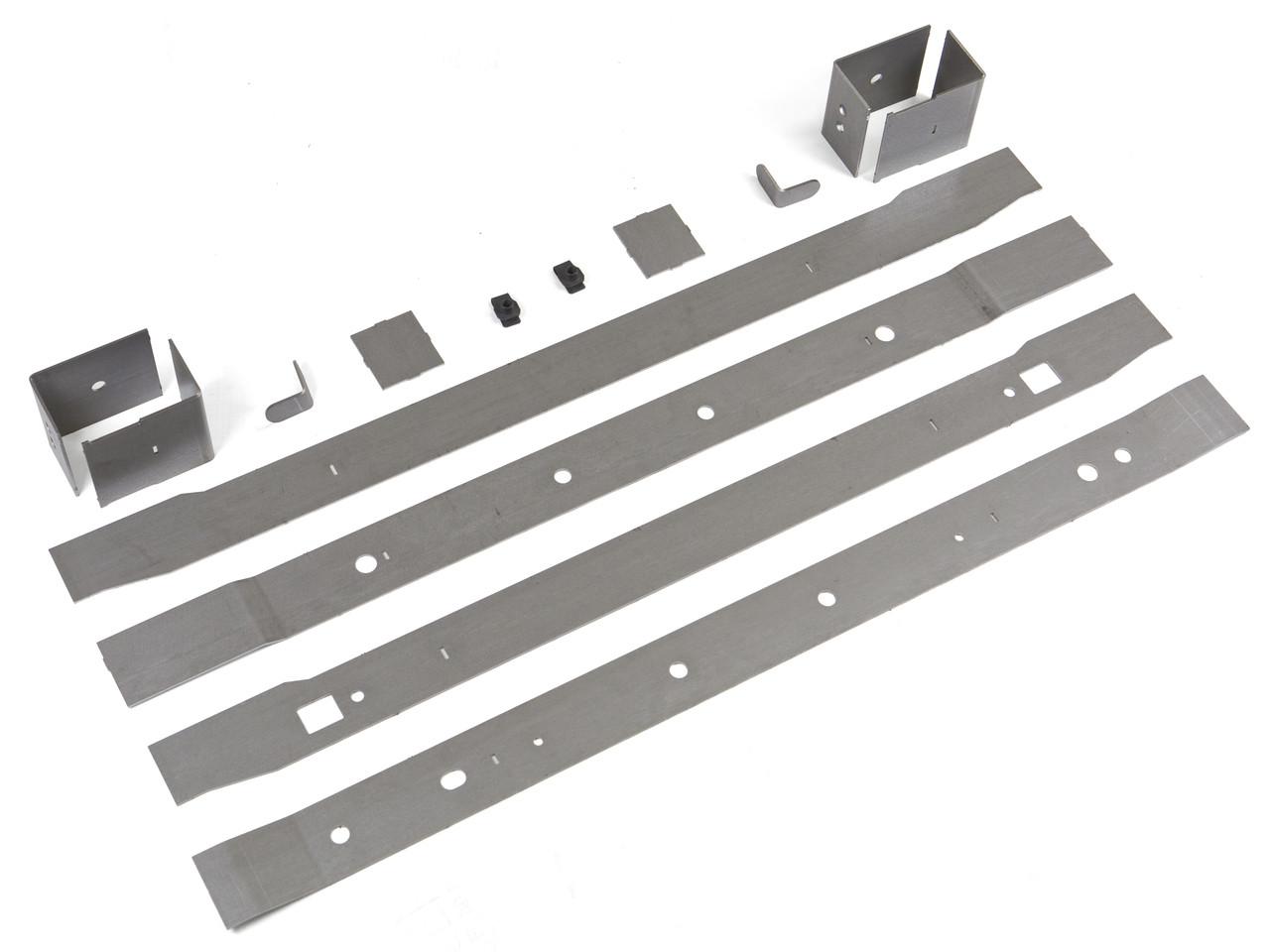 JK Rear Frame Repair Kit from GenRight