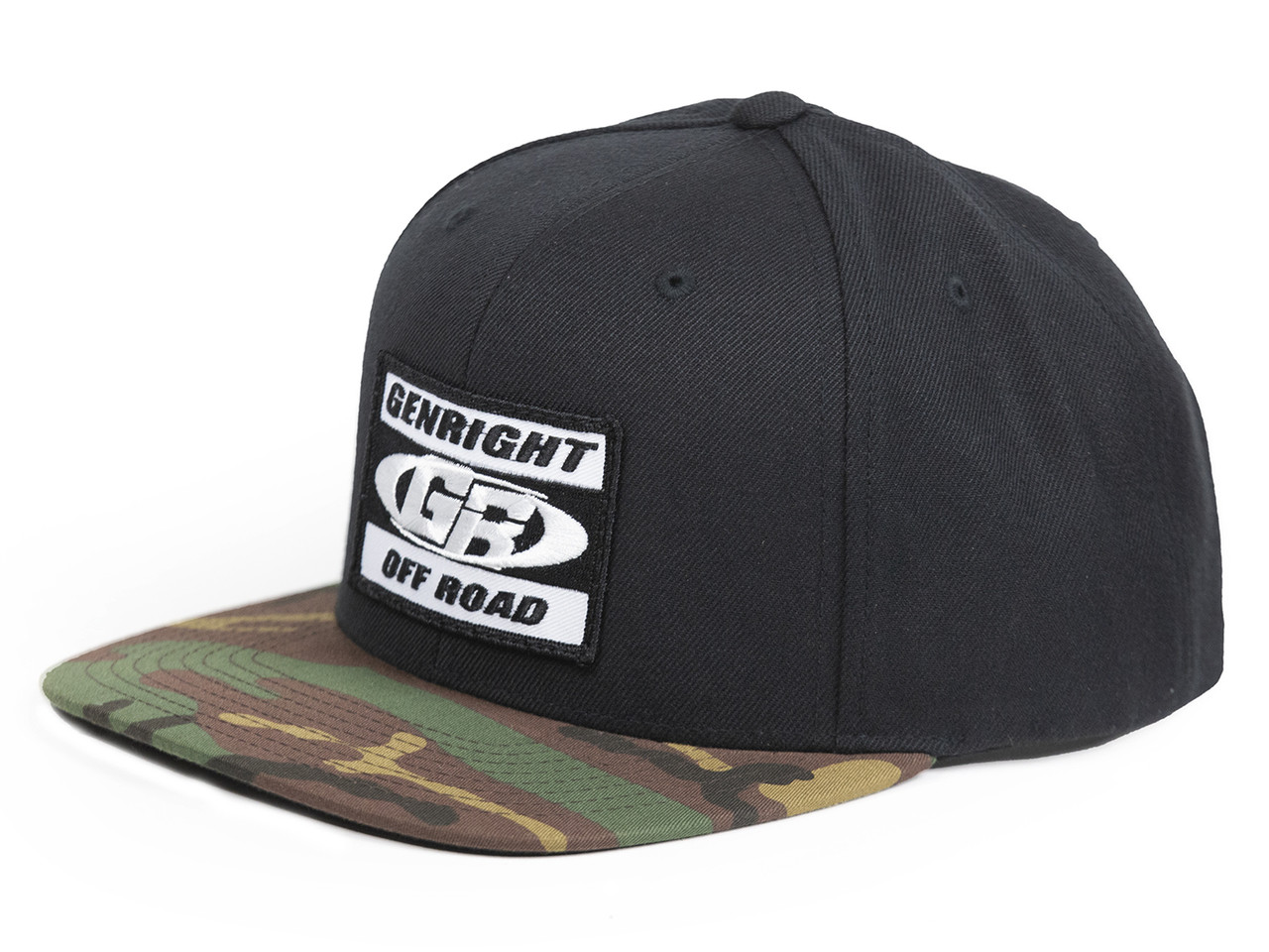 GenRight 2-Tone Camo Snapback Hat