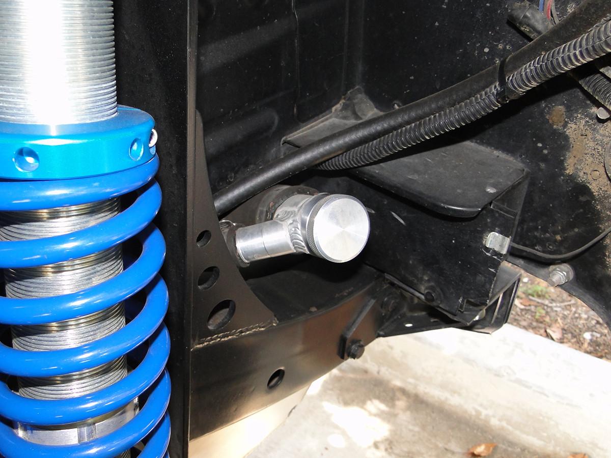 Typical install on a stretched TJ, YJ ot CJ