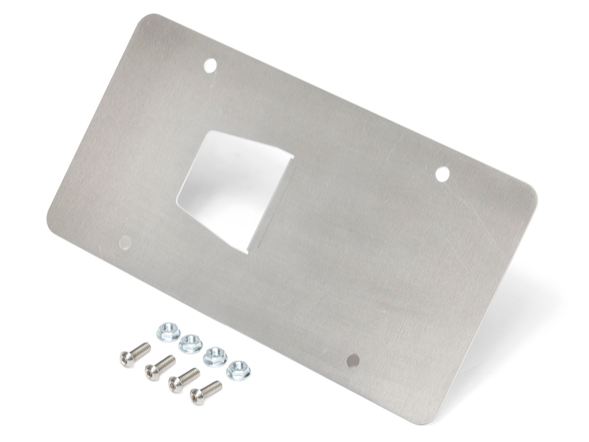 Universal Front License Plate Mount (For any D-Ring Tow Points) w/hardware