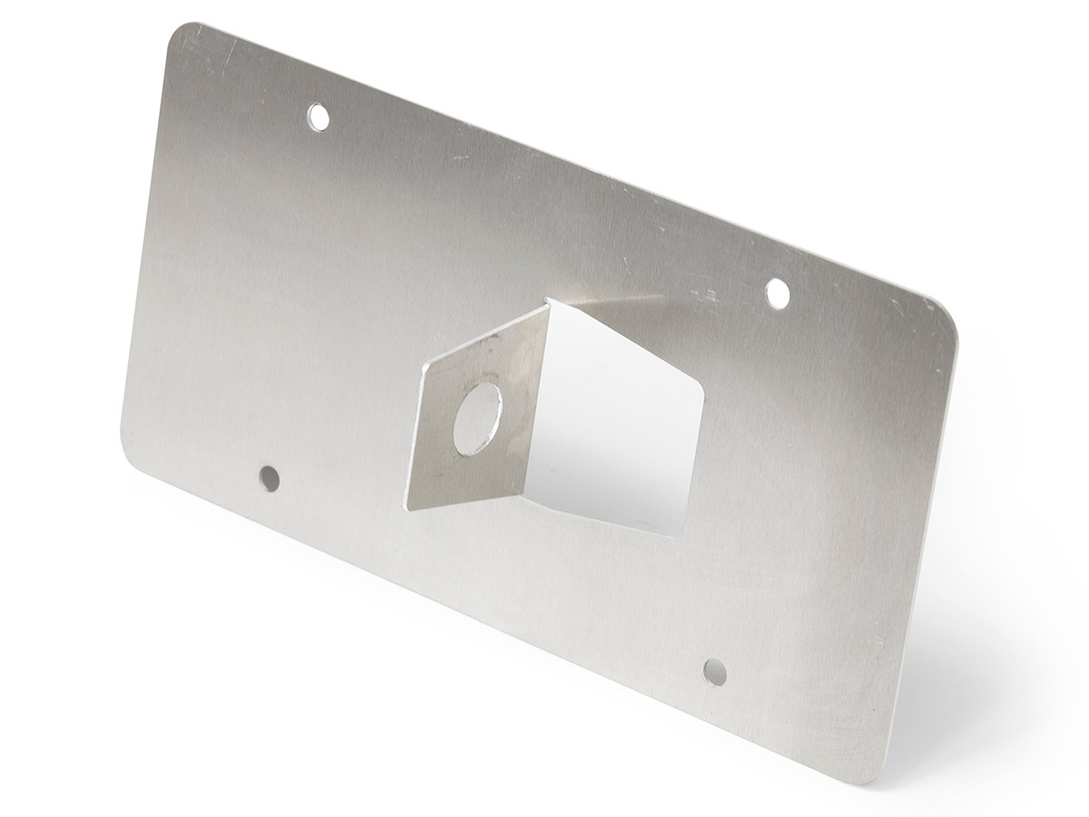 "Universal Front License Plate Mount (For any 7/8"" D-Ring Tow Points)"