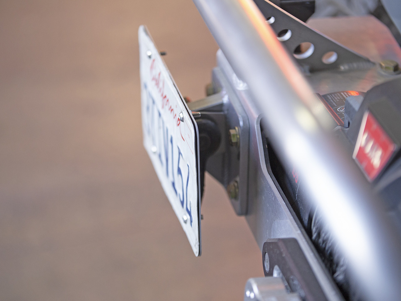 Uses the existing D-Ring/Tow Point Mount on the front bumper
