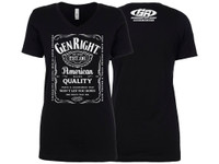 GenRight Women's Whiskey V Neck Shirt