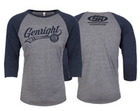 GenRight Ballpark 3/4 Sleeve Shirt (Unisex)