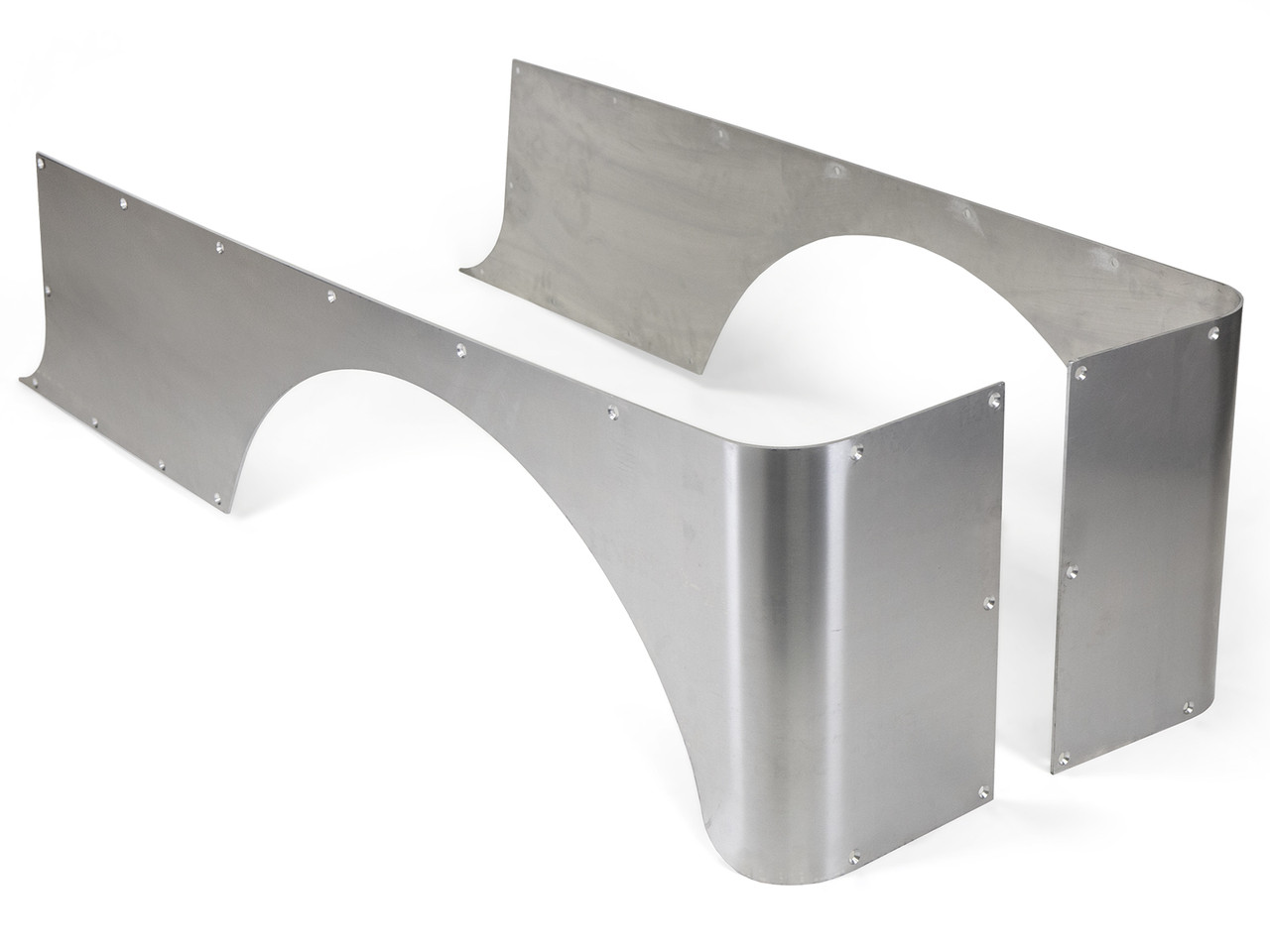 Jeep LJ Tracer Stretch Corner Guard Set - Aluminum
