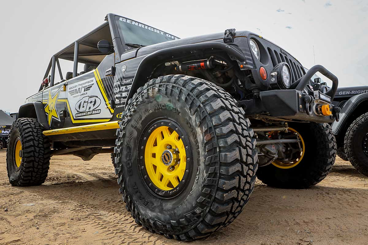 Shown here on the 640HP GenRight Terremoto Jeep JK