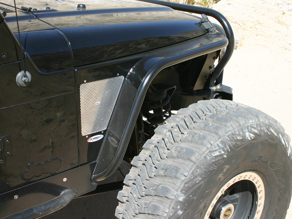 YJ Hi-Fenders painted to match