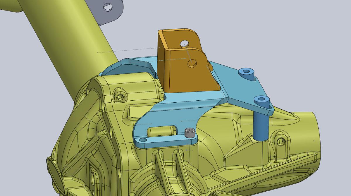 Designed in Solidworks CAD