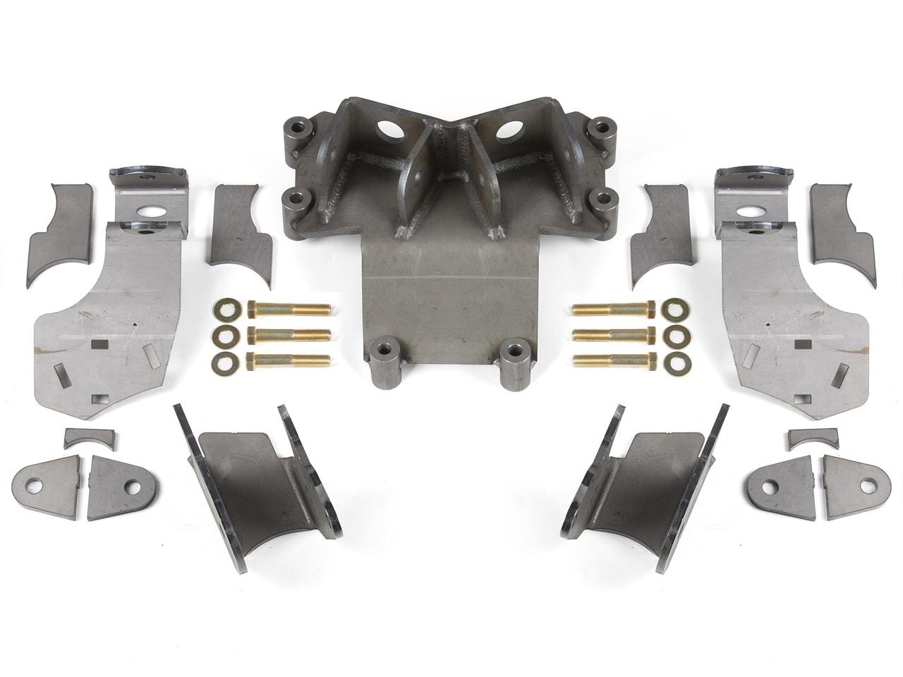 """JK Elite Rear axle bracket kit for a 4.0"""" axle tube on a Dynatrac Pro Rock 80"""