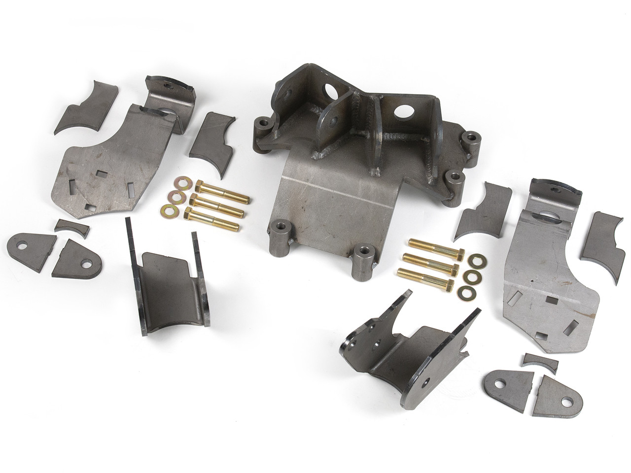 "JK Elite Rear axle bracket kit for a 4.0"" axle tube on a Dynatrac Pro Rock 80"