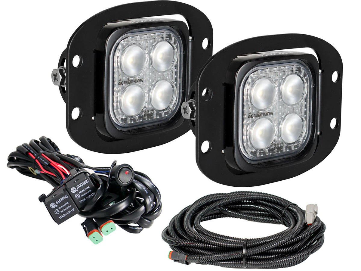 Vision X Duralux Mini Flush Mount Led Reverse Light Kit