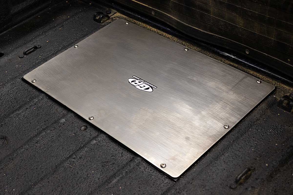 """When the cover plate is installed it only sticks up 1/8"""" above the top of the ribs in the floor"""