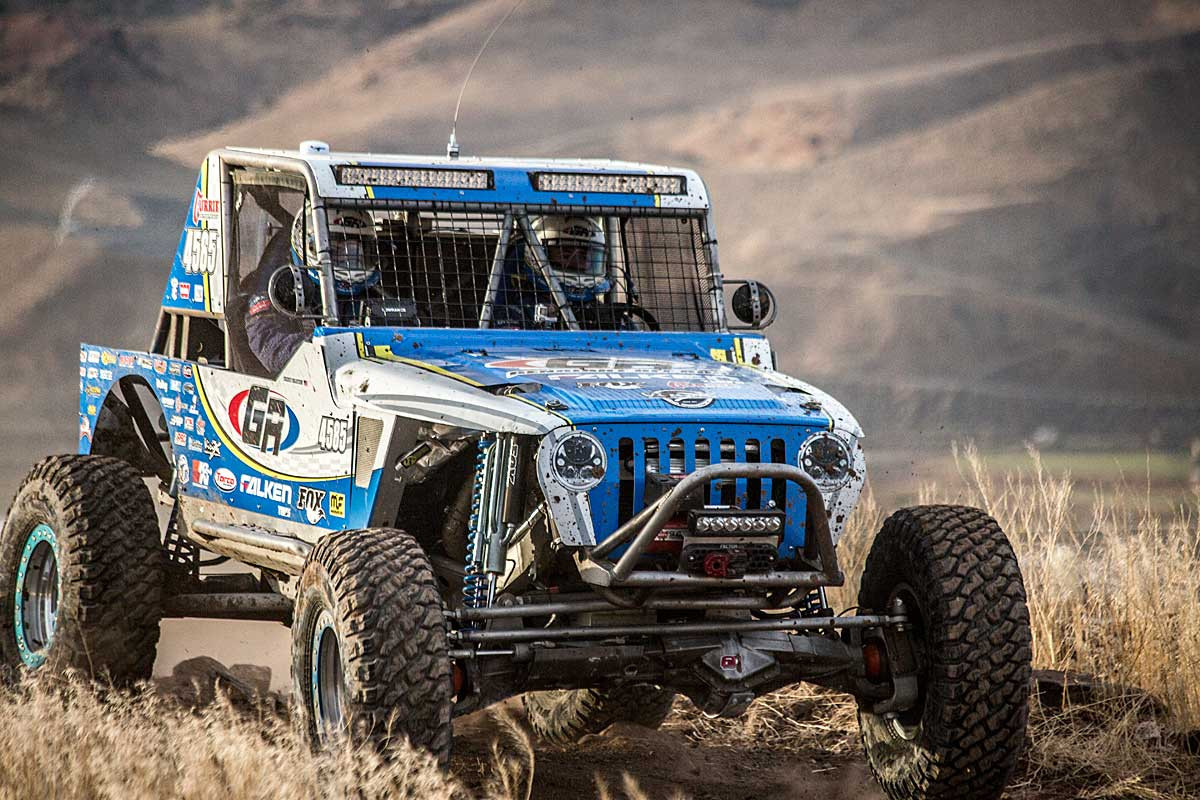 Pictured here on the GenRight 4585 Ultra4 MOD Class Racer