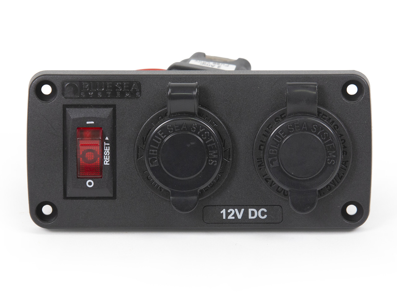 Bluesea Below Deck 12V DC & USB Power Panel