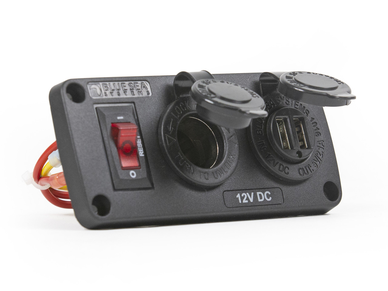 12V DC & Dual 2.1A USB Chargers