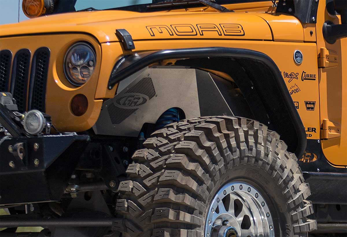 TFF-8EIF Front Inner Fenders for Jeep with GenRight JK Elite Suspension