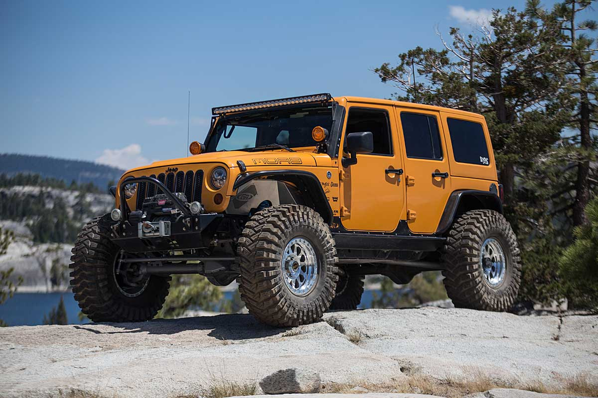 GenRight's Front Inner Fenders for Jeep with JK Elite Suspension